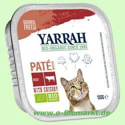 Katzenfutter Wellness Paté Rind Zichorie (Yarrah)