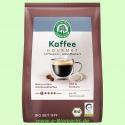 Gourmet-Caffè Crema entkoffeiniert Kaffeepads (Lebensbaum)