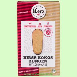Hirse-Vollkorn-Kokoszungen, glutenfrei (Werz)