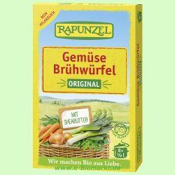 Gemüse-Brühwürfel Original, 4% Gemüseanteil (Rapunzel)