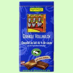 Vollmilch Schokolade Dunkel 46% HIH (Rapunzel)