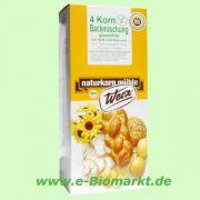 4-Korn-Brot, glutenfreie Backmischung (Werz)