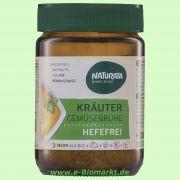 Gemüsebrühe hefefrei Kräuter (Naturata)
