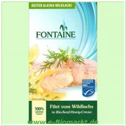 Wildlachs-Filets in Bio-Senf-Honig-Creme (Fontaine)