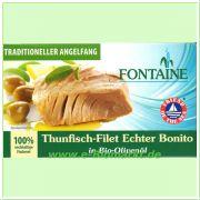 Thunfisch - Echter Bonito in Bio-Olivenöl (Fontaine)