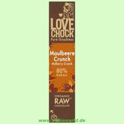 100% Raw Chocolate Maulbeere / Vanille (Lovechock)