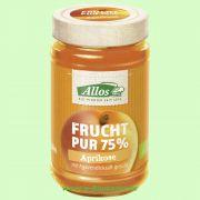 Aprikose - Frucht Pur 75 % - Fruchtaufstrich (Allos)
