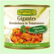Gigantes Riesenbohnen in Tomatensauce (Rapunzel)