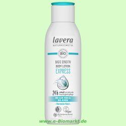 basis sensitiv Feuchtigkeitslotion (Lavera)