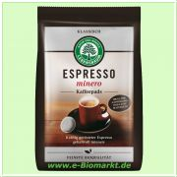 Espresso minero, Kaffeepads (Lebensbaum)