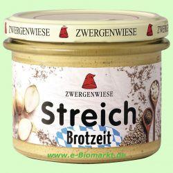 Brotzeit - vegetarischer Brotaufstrich (Zwergenwiese)