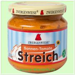 Sonnen-Tomate Streich - vegetarischer Brotaufstrich (Zwergenwiese)