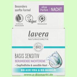 Regenerierende Nachtpflege, Bio-Cranberry & Bio-Arganöl (Lavera)