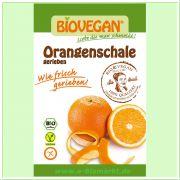 geriebene Orangenschale (Biovegan)