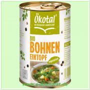 Bohneneintopf vegetarisch (Ökotal)