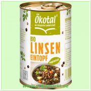 Linseneintopf vegetarisch (Ökotal)
