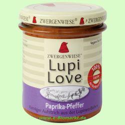 Lupi Love Paprika-Pfeffer - Lupinen Brotaufstrich (Zwergenwiese)