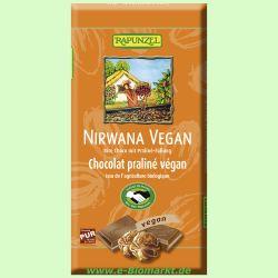 Nirwana vegane Schokolade mit Trüffelfüllung HIH (Rapunzel)