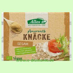 Amaranth-Sesam-Knäcke (Allos)