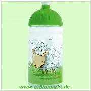 FreeWater Trinkflasche (ISYbe) 500 ml, Schaf, transparent/hellgrün (FreeWater)