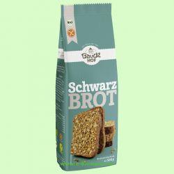 Schwarzbrot glutenfrei - Backmischung (Bauck Hof)