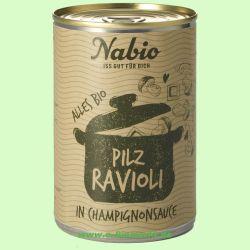 Ravioli in Champignonsauce (NAbio)
