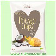 Kartoffelchips in Kokosöl gebacken (Trafo)