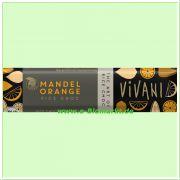Mandel Orange Schokoriegel mit Reisdrink (Vivani)