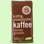 Röstkaffee, gemahlen (dennree)