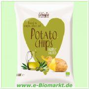 Kartoffelchips in Olivenöl gebacken (Trafo)