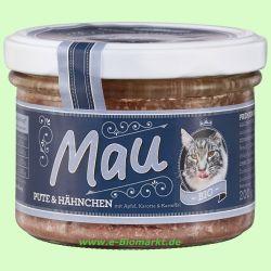 Mau Premium Katzennahrung Pute & Hähnchen (Wuff & Mau Heimtierna