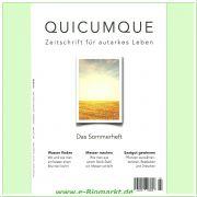 QUICUMQUE - Zeitschrift für autarkes Leben, Ausgabe 3/16