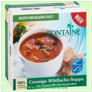Cremige Wildlachs Suppe (Fontaine)