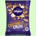 Coconut Chips Chocolate - Geröstete Kokoschips mit Kakaopulver (Davert)
