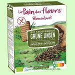 Blumenbrot Grüne Linsen glutenfrei (Blumenbrot)