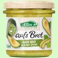 Aufs Brot Avocado - Pflanzlicher Brotaufstrich (Allos)