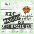 Cocktailservietten Grillsaison (Ideal Home Range GmbH)