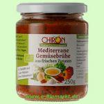 Mediterrane Gemüsebrühe mit frischen Zutaten (Chiron)
