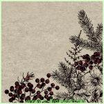 Lunchserviette Botanical Xmas (Paper+Design)