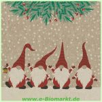 Lunchserviette Happy Santas (Paper+Design)