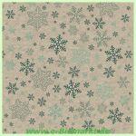Lunchserviette Snowflakes pattern (Paper+Design)
