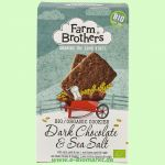 Dark Chocolate & Sea Salt - Kekse mit Zartbitterschokolade und Meersalz (Farm Brothers)