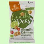 Crunchy Peas - Kokos Chili-Lime - knackige Kichererbsen (Landgarten)