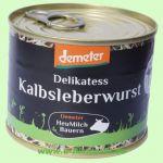 Kalbs-Leberwurst DEMETER (Demeter Milchbauern Süd)