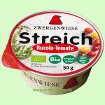 Rucola-Tomate Streich - vegetarischer Brotaufstrich (Zwergenwiese)