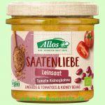 Saatenliebe Leinsaat Tomate Kidneybohne - Pflanzlicher Brotaufstrich (Allos)