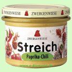 Paprika-Chili Streich - veganer Bio Brotaufstrich (Zwergenwiese)