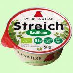 Basilikum Streich - vegetarischer Brotaufstrich (Zwergenwiese)