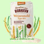 Weizenmehl Type 405 (Bodensee Biobauern)