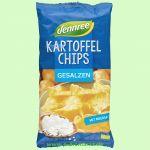 Kartoffelchips gesalzen (dennree)